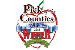 Adams County PA pick of the counties 1st place award.