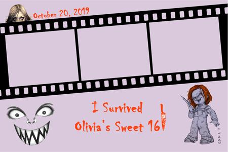 Print Design for Chucky themed Sweet 16